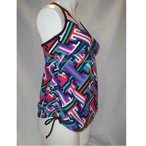 Liz Lange Swim - Liz Lange Maternity Tankini Swim Suit Top SMALL